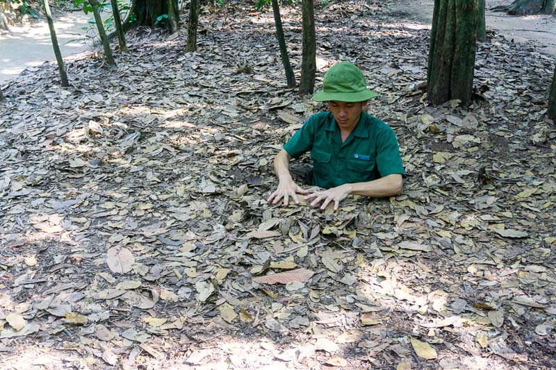 ho chi minh city highlights | cu chi tunnels