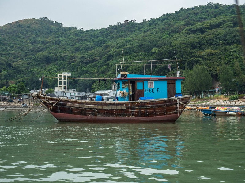 non touristy things to do in hong kong | Junk Boat at Tai O Fishing village