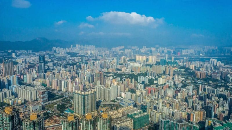 things to do in hong kong | city view from sky 100
