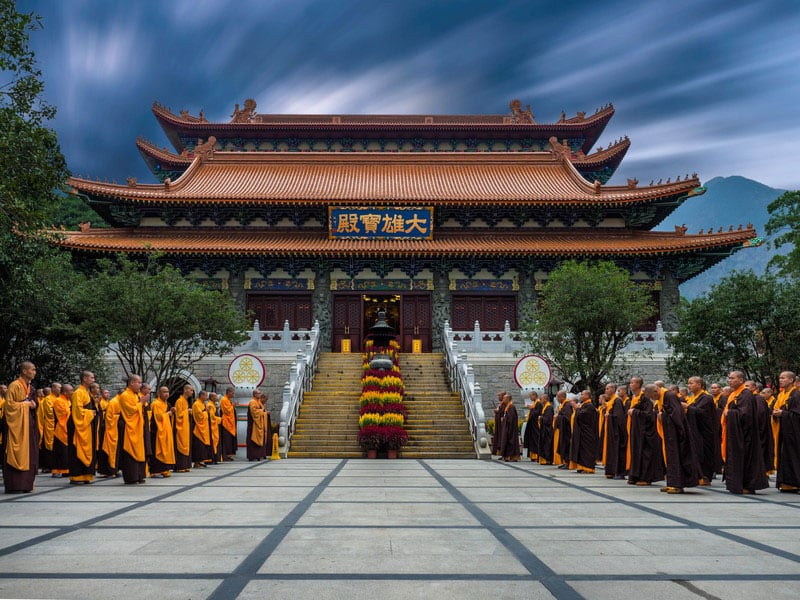 things to see in hong kong | temple monastery