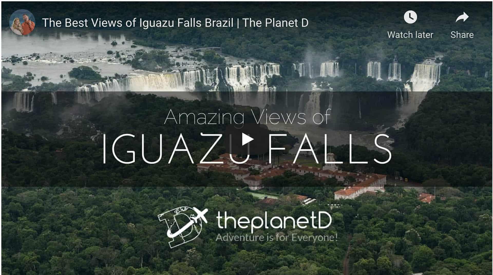 jet boat tour iguazu falls video