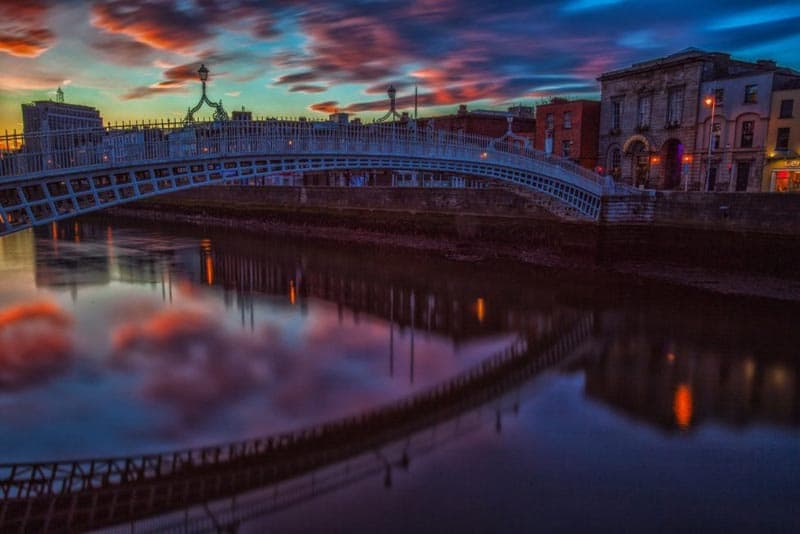 ireland pictures ha penny bridge