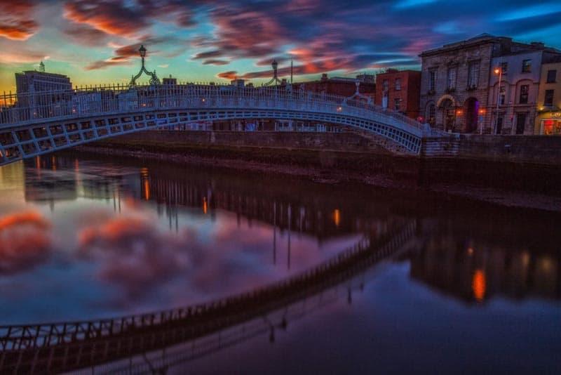 ireland pictures ha penny bridge