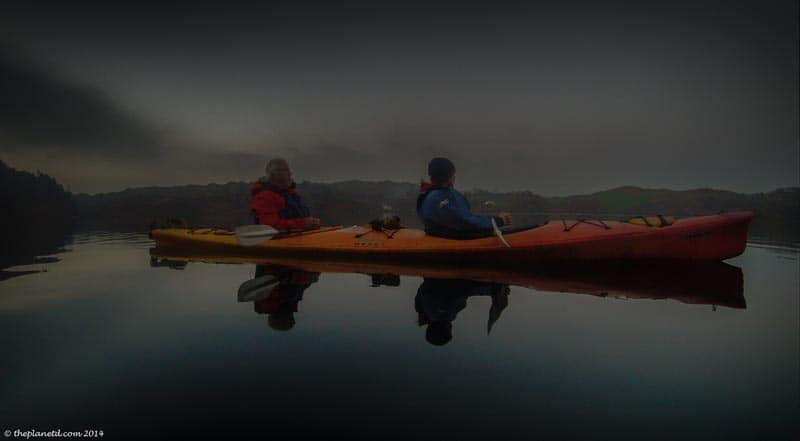 kayaking at night unique things to do in Ireland