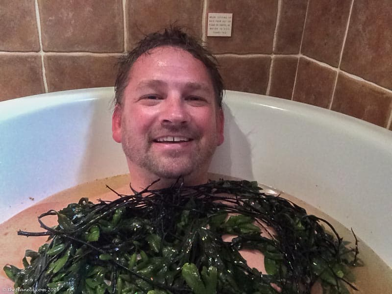 unique things to do in ireland seaweed bath