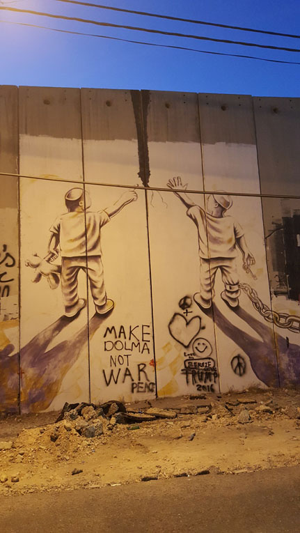 graffiti in israel