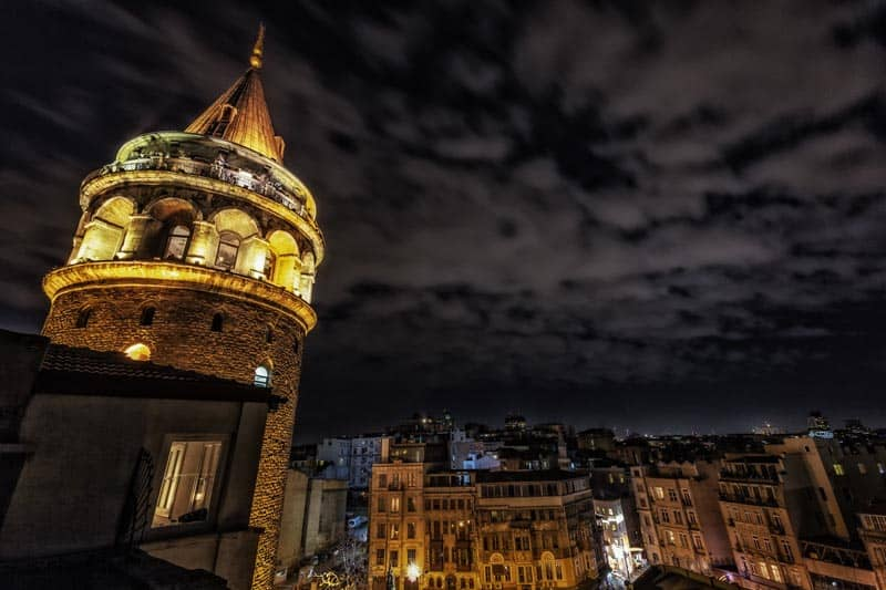 what to do in Istanbul Galata Tower