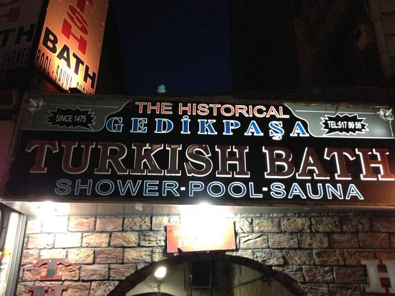 visit istanbul and have a turkish bath
