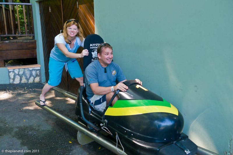 what to do in Jamaica bobsledding