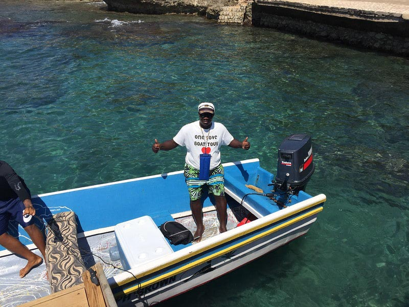 what to do in Jamaica private boat tour