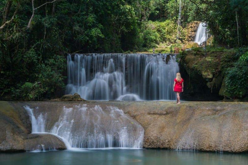 what to do in jamaica ys waterfall