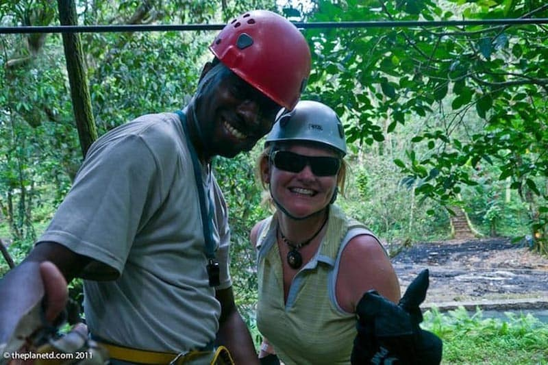 what to do in Jamaica zip line
