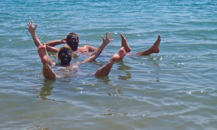 things to do in jordan | swimming in the dead sea
