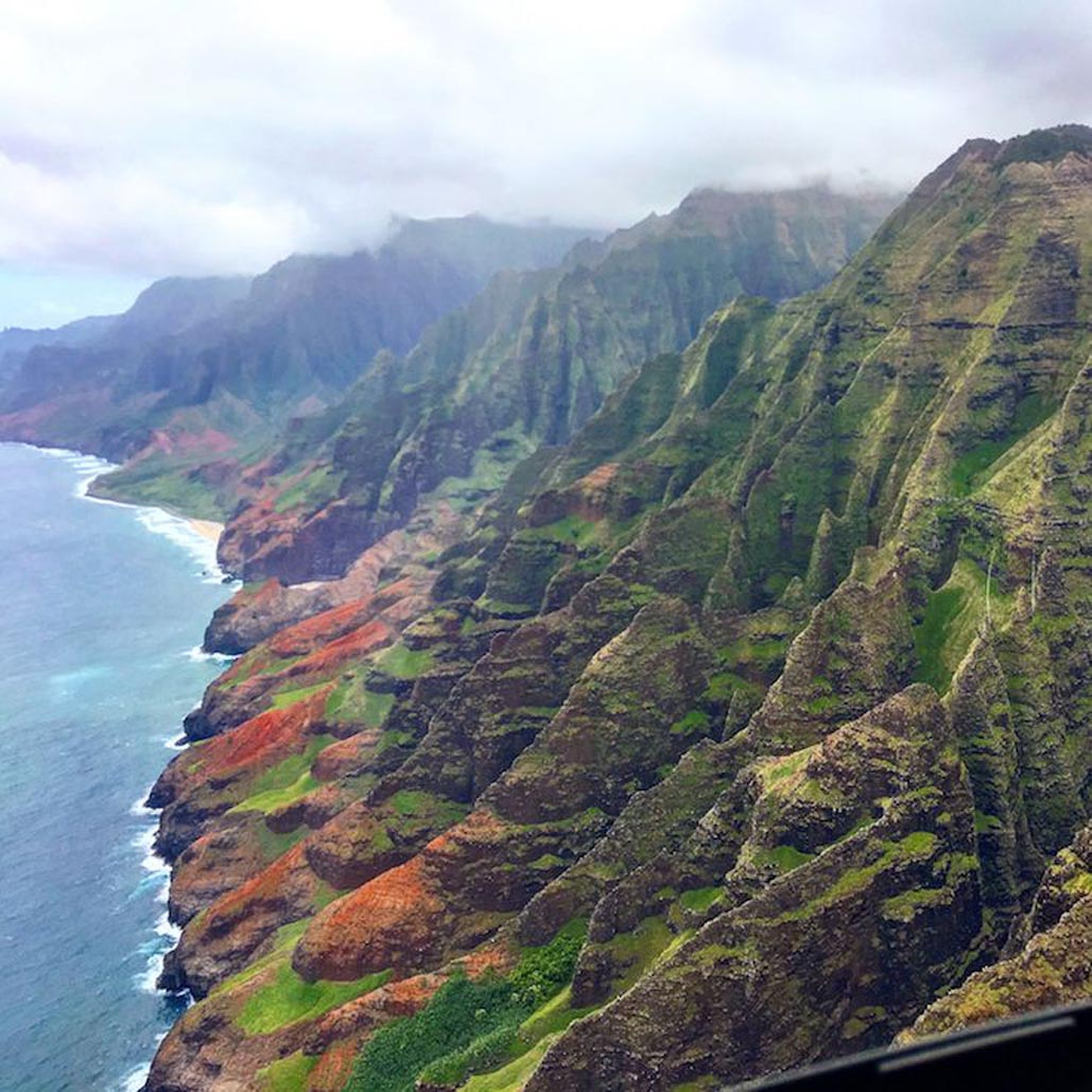 things to see in kauai from a helicopter