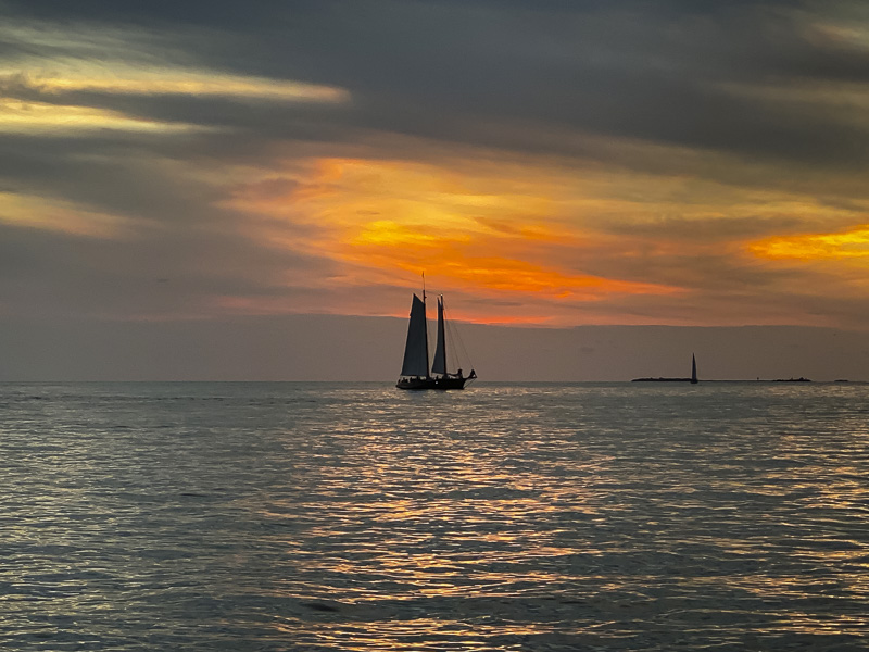 schooner sunset sail - key west things to do