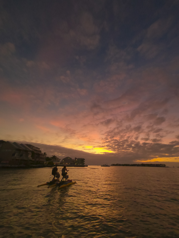 Glow tour on Aqua Bikes in Key West
