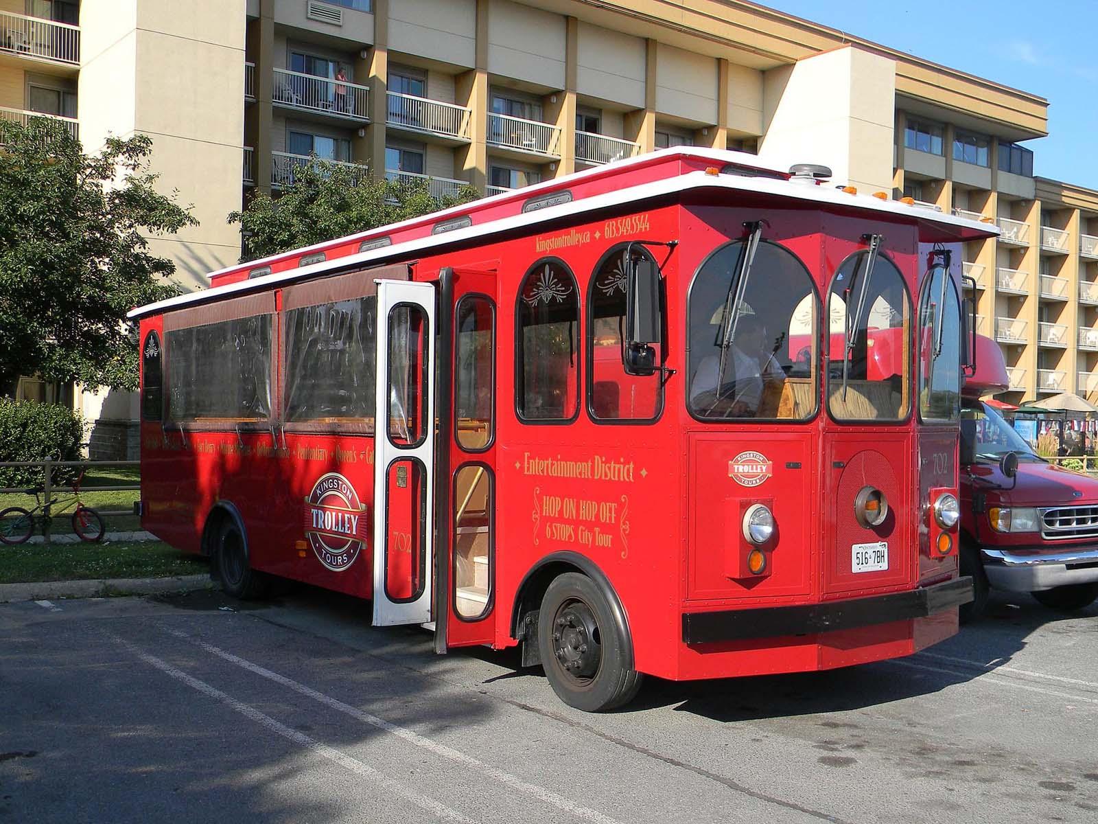 kingston red trolley