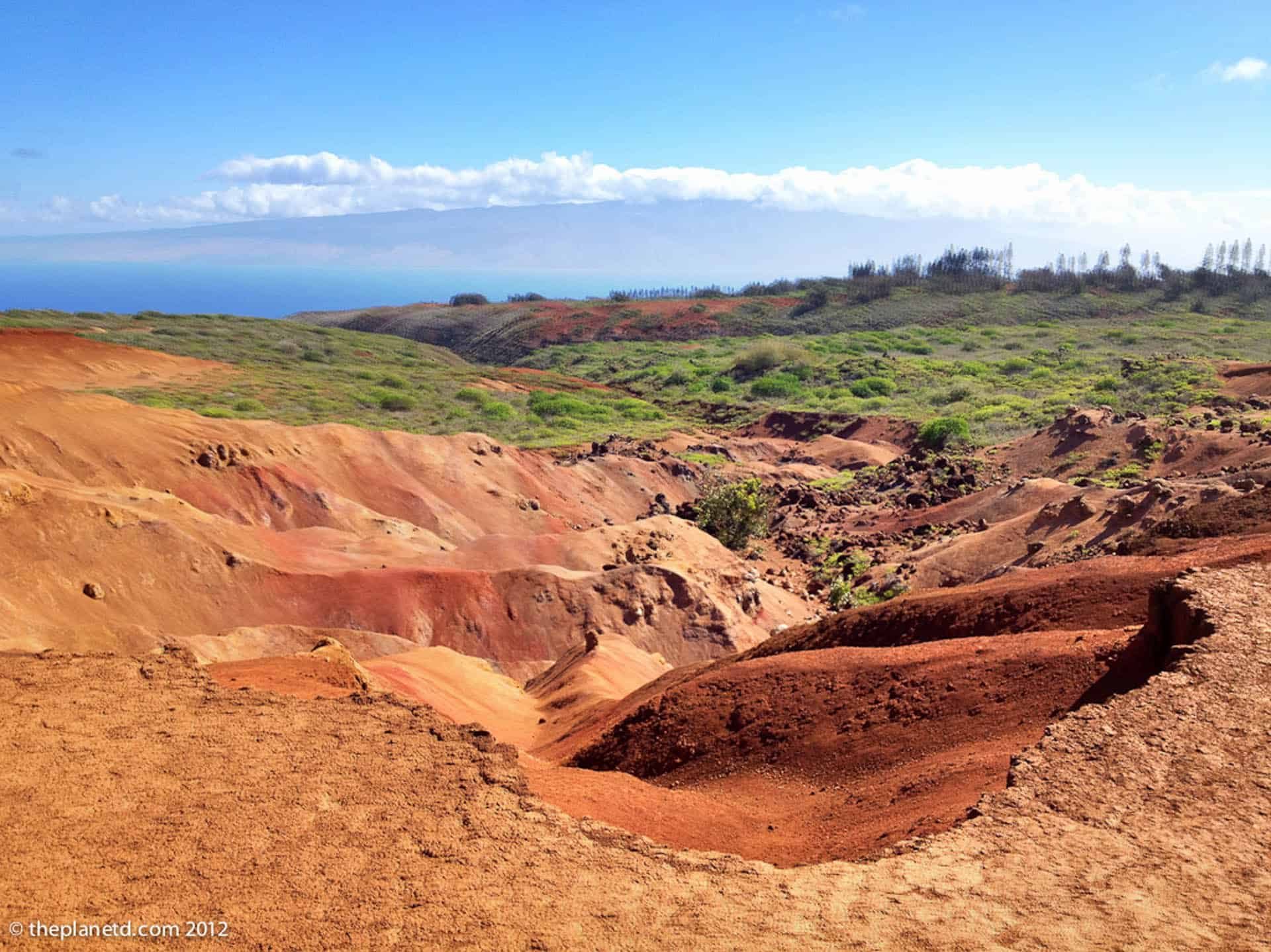 things to do in Lanai Hawaii - interesting landscape
