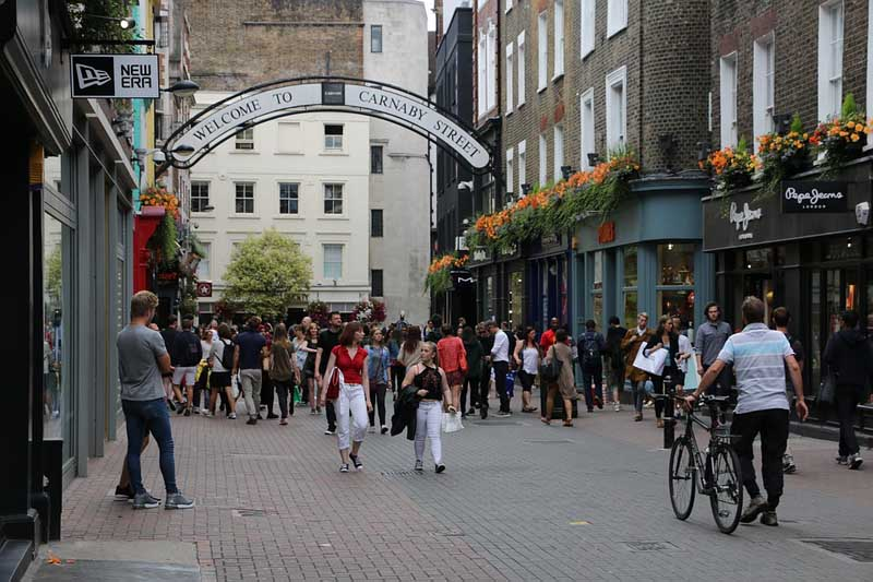 where to go in london carnaby street