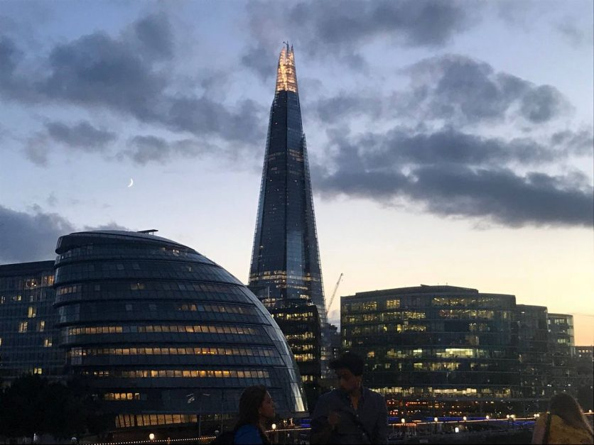 london must do experiences the shard