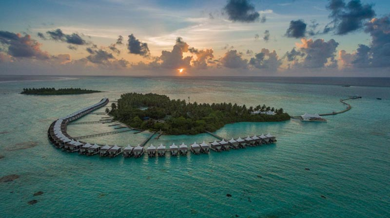 island view of the Maldives