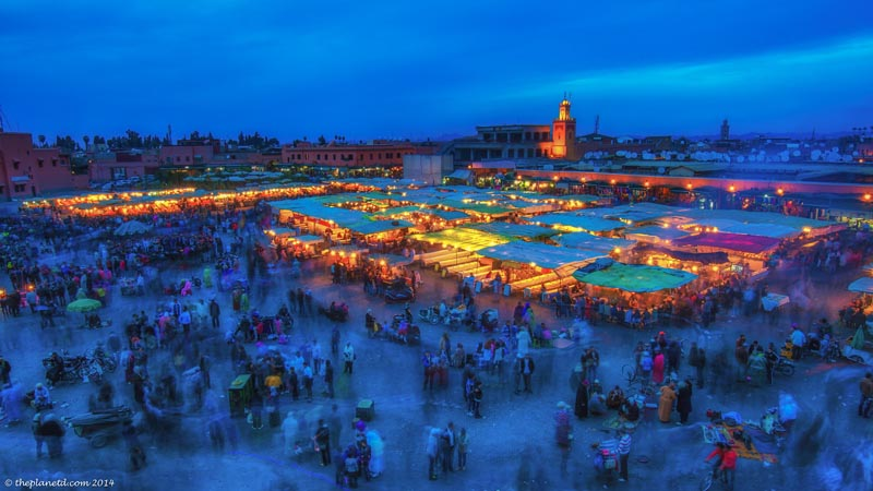 things to do in marrakech morocco square