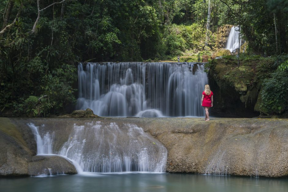 Things to do in Montego Bay: Visit a waterfall