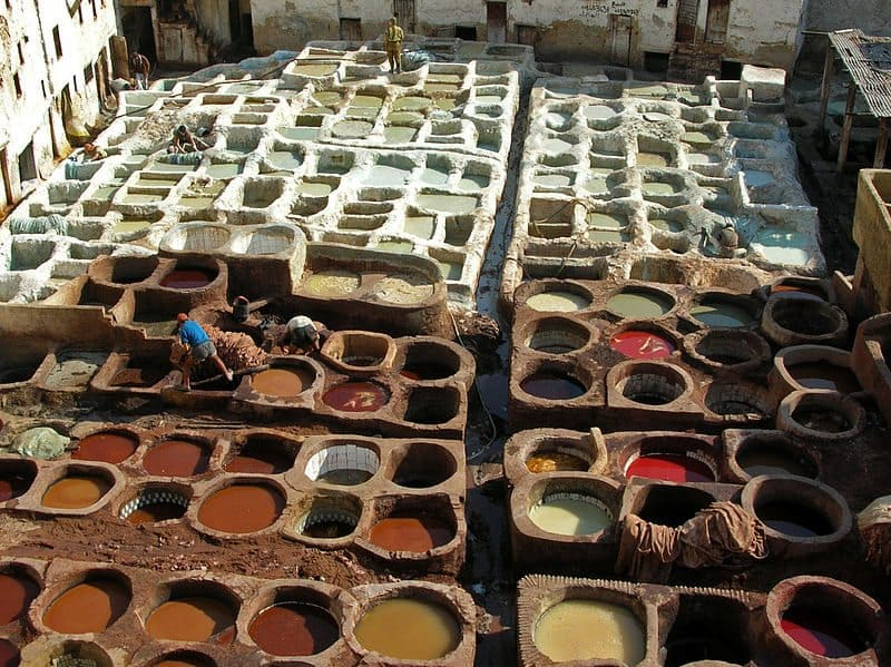 things to do in morocco leather