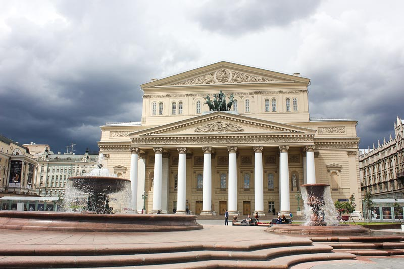moscow things to do | bolshoi theatre