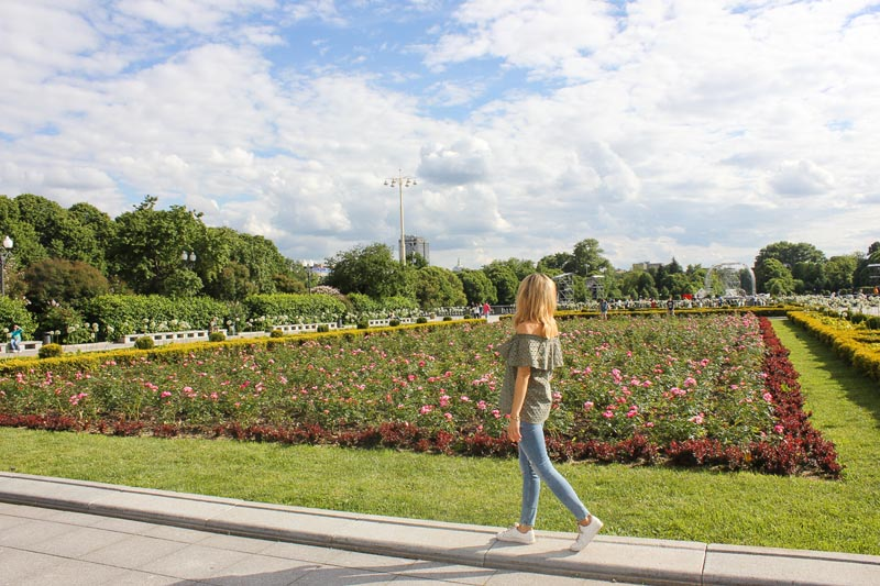 tourist attractions in moscow | gorky park