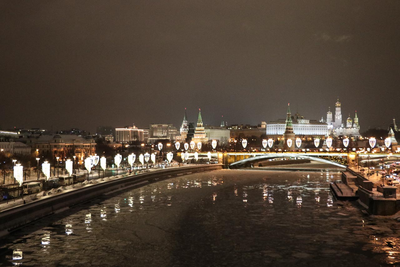 must do in moscow  | moskva river