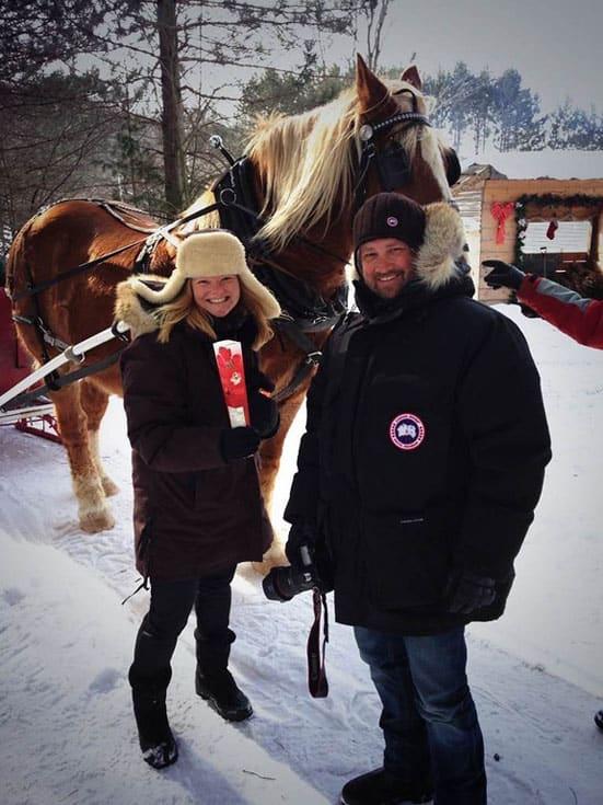 things to do in muskoka winter horse