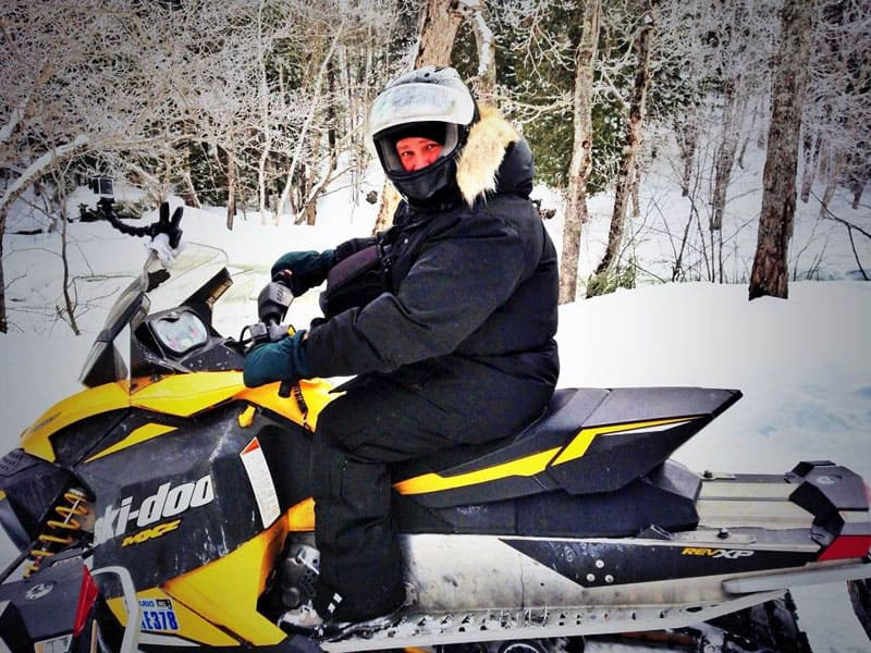 things to do in muskoka winter ski doo