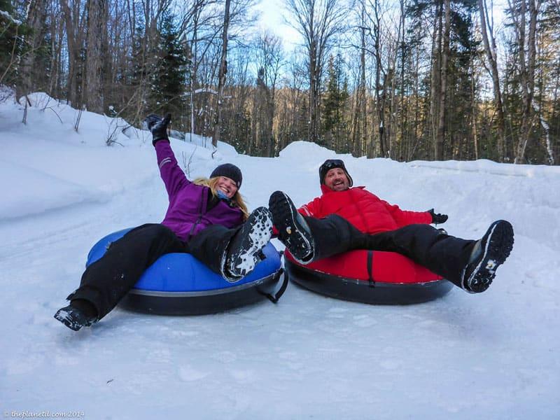 things to do in muskoka winter tubing