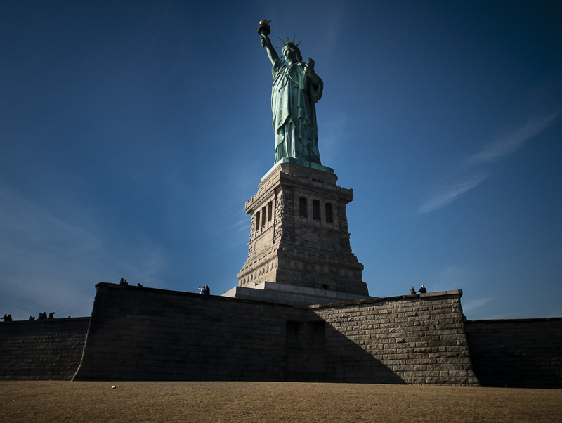 Visit the Statue of Liberty from Battery Park