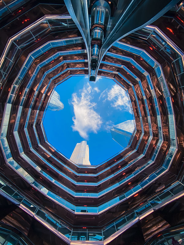 The Vessel in the Hudson Yards of New York City