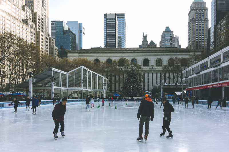 What to do in New York City | Visit Bryant Park