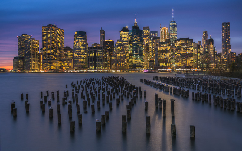 Things to do in New York | Manhattan Skyline from Broklyn