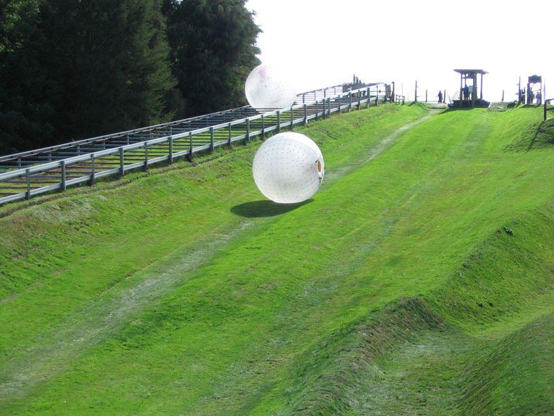 Zorbing New Zealand Things to do