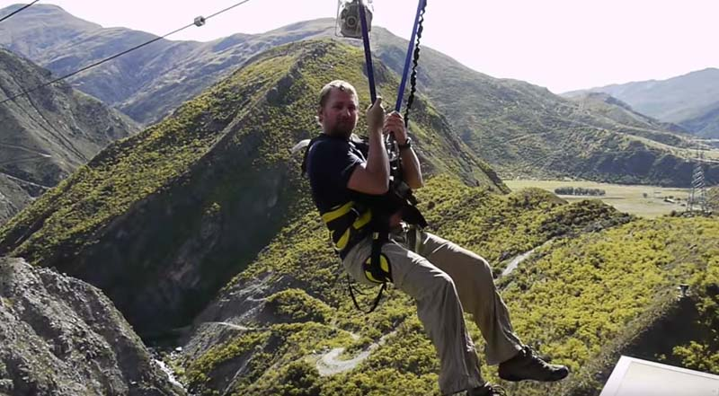 where to bungee jump in new zealand - nevis swing