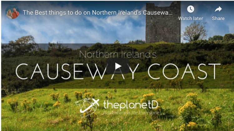 northern ireland things to do | causeway coast video