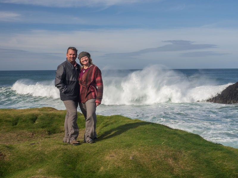 things to do in northern ireland raging sea