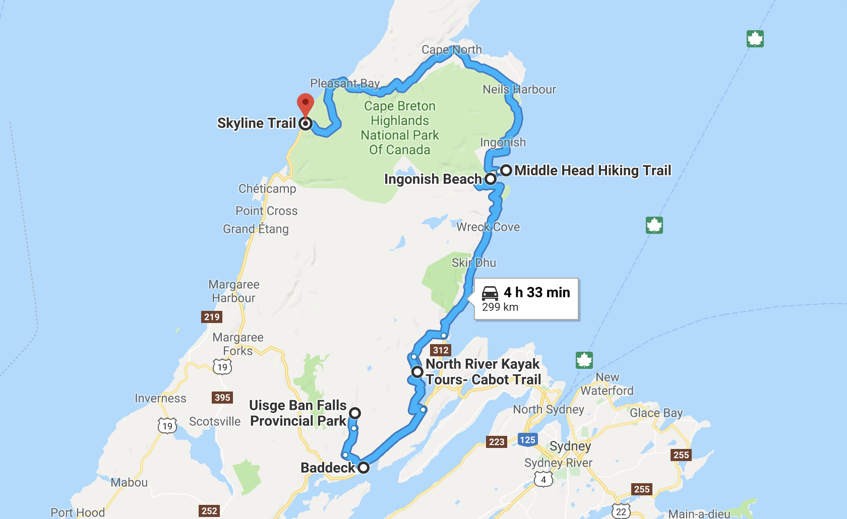 nova scotia road trip cabot trail
