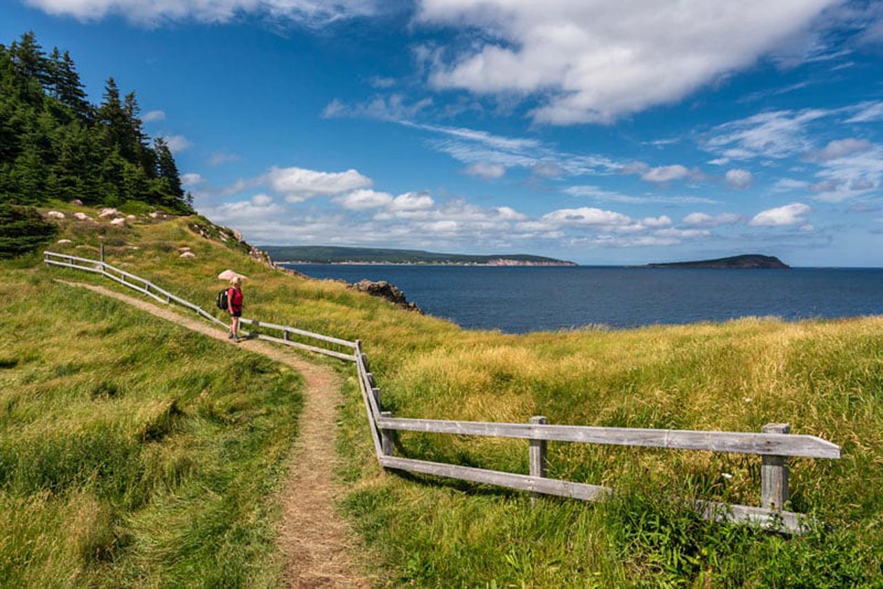 nova écosse attractions touristiques sentier de randonnée