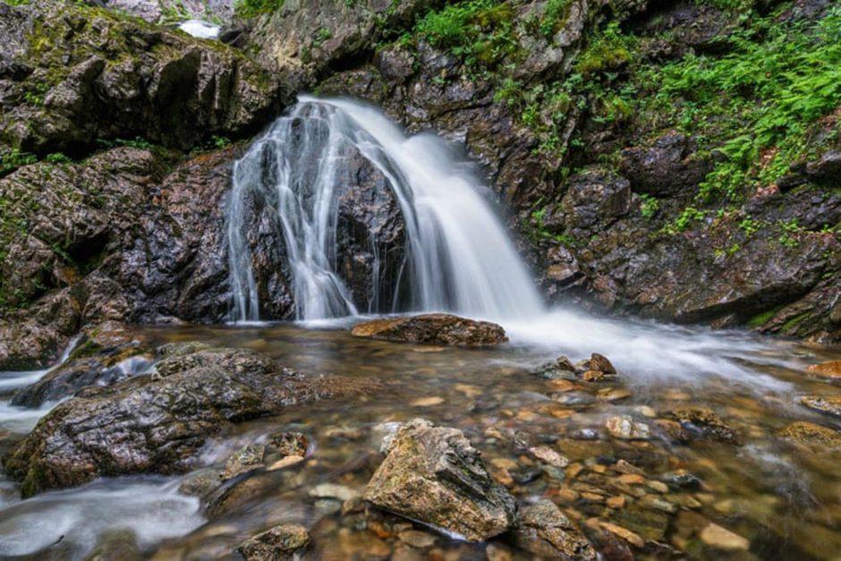 nova scotia attractions uisge ban waterfalls