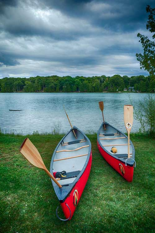 canoes in ontario canada