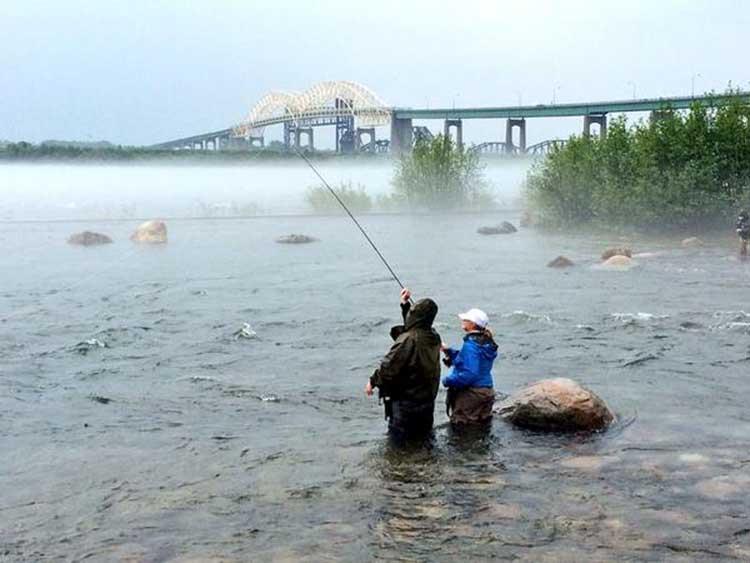 fly fishing saint mary's river