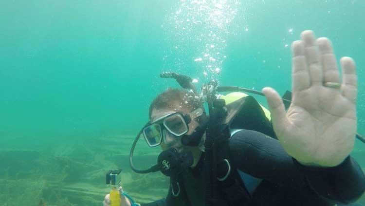 ontario things to do | scuba dive