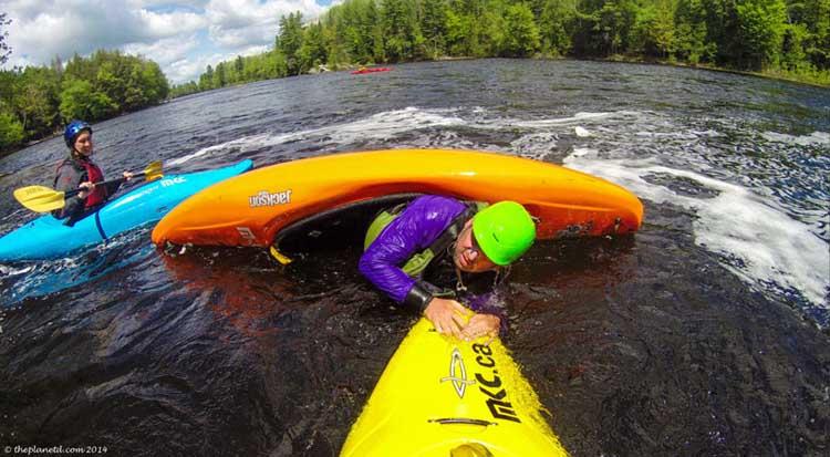 things to do in ontario | whitewater kayaking