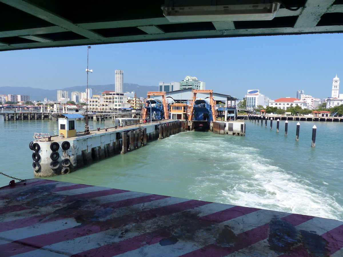 penang malaysia attractions | ferry